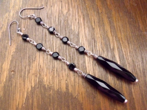 Dark Earrings